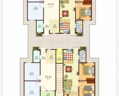 Makadi Type 3 ground floor plan
